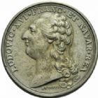 Photo numismatique  JETONS ROYALES FRANCAISES LOUIS XVI (10 mai 1774–21 janvier 1793)  Jeton en métal de cloche, prix de l'Académie Royale.