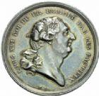 Photo numismatique  JETONS PÉRIODE MODERNE LOUIS XVI (10 mai 1774–21 janvier 1793)  Jeton de la mort du roi le 21 janvier 1793.