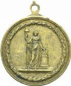 Photo numismatique  MEDAILLES MODERNES FRANÇAISES LE DIRECTOIRE (27 octobre 1795-10 novembre 1799)  Loterie Nationale de la République, n°B 44.