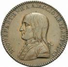 Photo numismatique  MEDAILLES MODERNES FRANÇAISES LE DIRECTOIRE (27 octobre 1795-10 novembre 1799)   Le Général Buonaparte.
