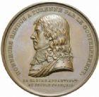 Photo numismatique  MEDAILLES MODERNES FRANÇAISES BONAPARTE, 1er consul (24 décembre 1799-18 mai 1804)  Translation du corps de Turenne aux Invalides.