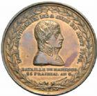 Photo numismatique  MEDAILLES MODERNES FRANÇAISES BONAPARTE, 1er consul (24 décembre 1799-18 mai 1804)  Mort de Desaix à Marengo le 25 prairial an 8.
