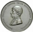 Photo numismatique  MEDAILLES MODERNES FRANÇAISES BONAPARTE, 1er consul (24 décembre 1799-18 mai 1804)  La Ville de Lille à Bonaparte, le 9 avril 1803.