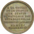 Photo numismatique  MEDAILLES MODERNES FRANÇAISES NAPOLEON Ier, empereur (18 mai 1804- 6 avril 1814)  Rétablissement de la statue de Napoléon, 1833.