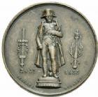 Photo numismatique  MEDAILLES MODERNES FRANÇAISES NAPOLEON Ier, empereur (18 mai 1804- 6 avril 1814)  Rétablissement de la statue de Napoléon, 28 juillet 1833.