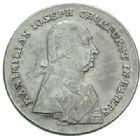 Photo numismatique  MONNAIES MONNAIES DU MONDE ALLEMAGNE BAVIÈRE, Maximilien III Joseph (1745-1777) Thaler de 1803.
