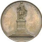 Photo numismatique  MEDAILLES MODERNES FRANÇAISES LOUIS XVIII, 2e restauration (8 juillet 1815-16 septembre 1824)  Erection de la statue de Turenne à Sedan, le 25 août 1823.