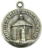 Photo numismatique  MEDAILLES PÉRIODE MODERNE VILLES VALENCIENNES (Nord) Notre-Dame des Affligés.