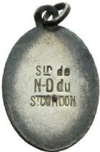 Photo numismatique  MEDAILLES PÉRIODE MODERNE VILLES VALENCIENNES (Nord) Notre-Dame du Saint-Cordon.