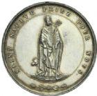Photo numismatique  MEDAILLES PÉRIODE MODERNE VILLES SAINT-SAULVE-LES-VALENCIENNES (Nord) Consécration de l'église, 1865.