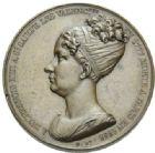 Photo numismatique  MEDAILLES PERIODE MODERNE VILLES VALENCIENNES (Nord) Société d'agriculture, sciences et arts, 1851.