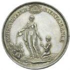 Photo numismatique  MEDAILLES PERIODE MODERNE VILLES VALENCIENNES (Nord) Société des Incas, 1851.