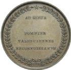 Photo numismatique  MEDAILLES PÉRIODE MODERNE VILLES VALENCIENNES (Nord) Bombardement de 1815, médaille de pompier.