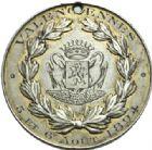 Photo numismatique  MEDAILLES PÉRIODE MODERNE VILLES VALENCIENNES (Nord) Concours de Tabac, août 1894.