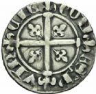 Photo numismatique  MONNAIES BARONNIALES Comté de PROVENCE ROBERT d'ANJOU (1309-1343) Provençal coronat, 1337.