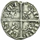Photo numismatique  MONNAIES BARONNIALES Duché d'AQUITAINE EDOUARD, prince noir (1352-1372) Hardi, Poitiers.
