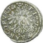 Photo numismatique  MONNAIES MONNAIES DU MONDE ALLEMAGNE FRANCFURT/MAIN Albus ou 8 Heller de 1651.