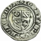 Photo numismatique  MONNAIES BARONNIALES Duché de BOURGOGNE JEAN SANS PEUR (1404-1419) Grand blanc de Saint-Laurent.