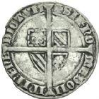 Photo numismatique  MONNAIES BARONNIALES Comté de FLANDRE PHILIPPE LE HARDI (1384-1404) Double gros cromsteert.