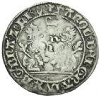 Photo numismatique  MONNAIES BARONNIALES Duché de BOURGOGNE CHARLES LE TEMERAIRE (1467-1477) Double briquet, Brabant, Anvers 1474.