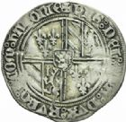 Photo numismatique  MONNAIES BARONNIALES Duché de BOURGOGNE PHILIPPE LE BON (1419-1467) Double gros dit « vierlander », Valenciennes, 1434/1440.