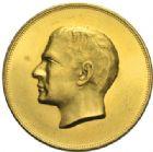 Photo numismatique  MEDAILLES MONNAIES DU MONDE IRAN MOHAMMED REZA PAHLEVI (1942-1979) Médaille d'or, 2500 ans de la Perse, 1350 = 1971.