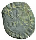 Photo numismatique  MONNAIES BARONNIALES Duché de BRETAGNE CHARLES de BLOIS (1341-1364) Double tournois, Guingamp.