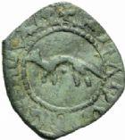 Photo numismatique  MONNAIES BARONNIALES Duché de BRETAGNE FRANCOIS Ier (1442-1450) Denier à l'hermine, Rennes.