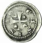 Photo numismatique  MONNAIES BARONNIALES Evêché de METZ JEAN d'Apremont (1224-1238) Denier.