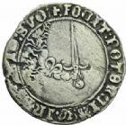 Photo numismatique  MONNAIES BARONNIALES Duché de LORRAINE ANTOINE (1508-1544) Plaque ou double gros de Nancy.