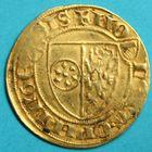 Photo numismatique  MONNAIES MONNAIES DU MONDE ALLEMAGNE MAYENCE, Jean II (1397-1419) Goldgulden non daté.