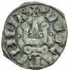 Photo numismatique  MONNAIES MONNAIES DU MONDE ORIENT LATIN ACHAIE, Philippe de Tarente (1306-1313) Denier, Glarentza.