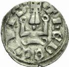 Photo numismatique  MONNAIES MONNAIES DU MONDE ORIENT LATIN ATHENES, Guillaume de la Roche (1280-1287) Denier, Thèbes.