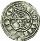 Photo numismatique  MONNAIES MONNAIES DU MONDE ORIENT LATIN Rois D'ANTIOCHE, Bohémond III (1163-1201) Denier, Antioche.