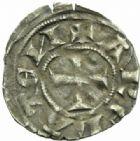 Photo numismatique  MONNAIES BARONNIALES Archevêché d'ARLES ANONYMES (1200-1240) Denier.