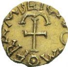 Photo numismatique  MONNAIES PEUPLES BARBARES MEROVINGIENS CITES Indéterminé Triens.
