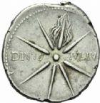 Photo numismatique  MONNAIES EMPIRE ROMAIN OCTAVE-AUGUSTE. (Empereur en 29 - Auguste 27 av.-14 ap. JC)  Denier, Caesaraugusta, vers 19/18.