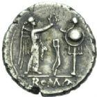 Photo numismatique  MONNAIES REPUBLIQUE ROMAINE Anonyme (211-206)  Victoriat.