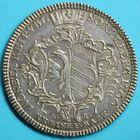 Photo numismatique  MONNAIES MONNAIES DU MONDE ALLEMAGNE NUREMBERG, Joseph II (1765-1780-1790) Demi Thaler de 1766.