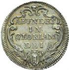 Photo numismatique  MONNAIES MONNAIES DU MONDE ITALIE SAINT-SIEGE, Clément XII (1730-1740) Jules, an IV.