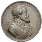 Photo numismatique  MEDAILLES MODERNES FRANÇAISES LOUIS XVIII, 2e restauration (8 juillet 1815-16 septembre 1824)  Louis XVIII et Henri IV.