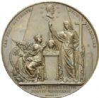Photo numismatique  MEDAILLES MODERNES FRANÇAISES DUC DE BERRY (1878-1820)  Mort du duc de Berry le 14 février 1820.