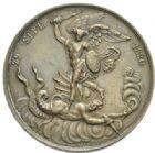 Photo numismatique  MEDAILLES MODERNES FRANÇAISES DUC DE BERRY (1878-1820)  Naissance du duc de Bordeaux.