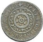 Photo numismatique  MONNAIES MONNAIES DU MONDE ALLEMAGNE OSNABRUCK, E. Auguste II de Brunswick (1716-1728) 5 Pfennig.