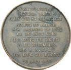 Photo numismatique  MEDAILLES MODERNES FRANÇAISES DUC DE BERRY (1878-1820)  Hommage du Nord au duc de Berry en 1829.