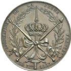Photo numismatique  MEDAILLES MODERNES FRANÇAISES HENRI V, prétendant (29 septembre 1820-1883)  Association de la jeunessse de France, 1833.
