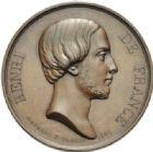 Photo numismatique  MEDAILLES MODERNES FRANÇAISES HENRI V, prétendant (29 septembre 1820-1883)  Après la majorité.