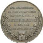 Photo numismatique  MEDAILLES MODERNES FRANÇAISES HENRI V, prétendant (29 septembre 1820-1883)  Visite des légitimistes à Anvers, 1872.