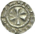 Photo numismatique  MONNAIES BARONNIALES Evêché du PUY ANONYMES (milieu du Xe siècle) Denier.