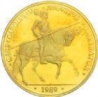 Photo numismatique  MONNAIES MONNAIES DU MONDE ESPAGNE  100 écus, 1989.